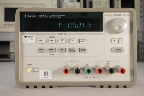 Agilent - E3631A Triple Output DC Power Supply