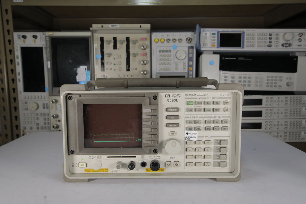 HP - 8590L Spectrum Analyzer with Options 003 and 041