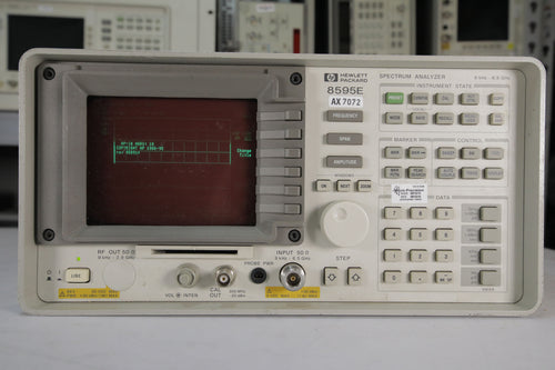 HP - 8595E Spectrum Analyzer with Options 041, 053 and 130