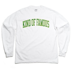 Collegiate L/S T-Shirt (White)