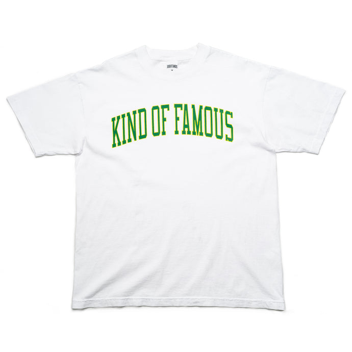 Collegiate S/S T-Shirt (White)