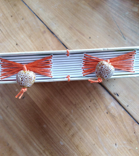 A5 decorative beaded notebook - Joy Makes Books