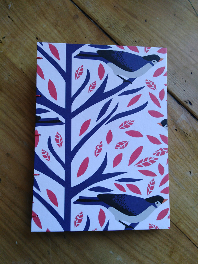 A5 handmade notebook - Joy Makes Books