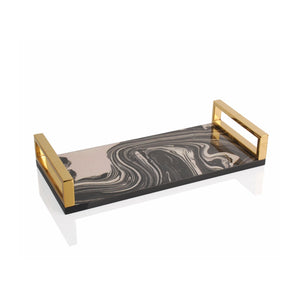 Sandwave Lacquer Tray