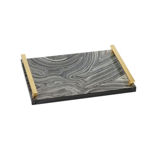 Rectangular Tray Gray