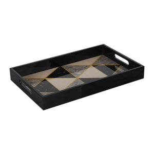 Rectangular Wood Paint Tray