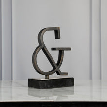 Load image into Gallery viewer, Ampersand Sculpture