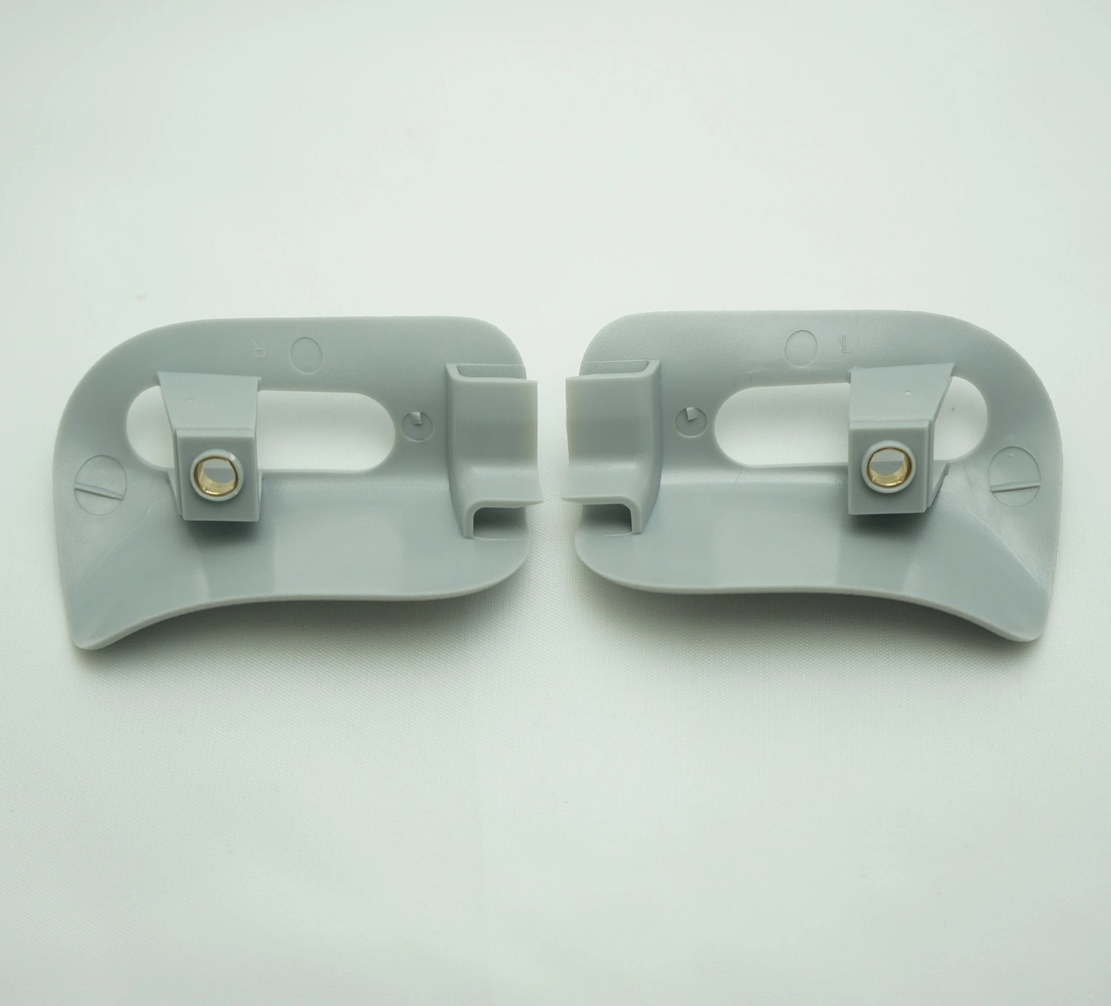 Pair of Sun Visor Trim Caps - Orion Gray - Classic Trim Parts