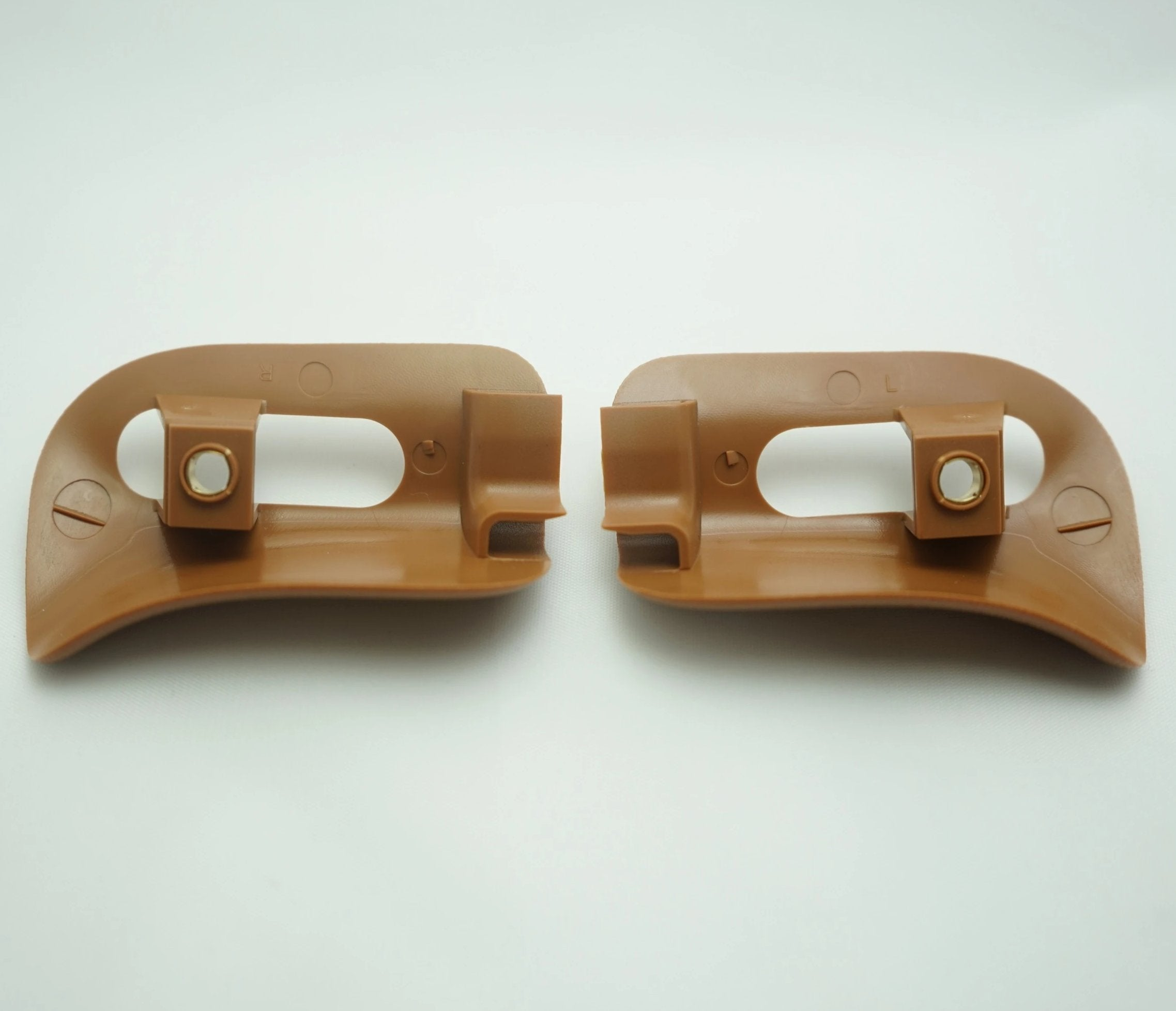 Pair of Sun Visor Trim Caps - Palomino - Classic Trim Parts