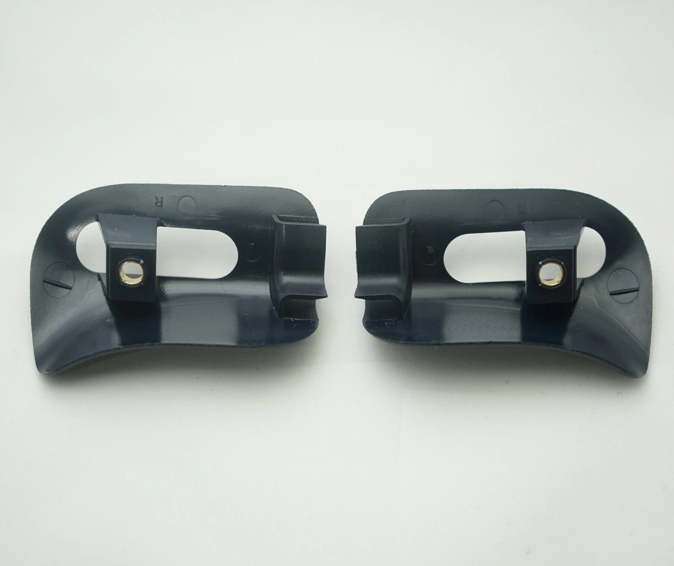 Pair of Sun Visor Trim Caps - Blue - Classic Trim Parts