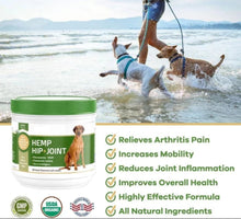 Load image into Gallery viewer, Super MAX Strength Premium Hemp DOG Supplements