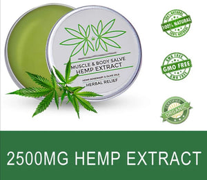 Extra MAX Strength CBD Pain Relief Muscle Balm Joints,Recovery,Injury,Arthritis,Migraines 2500mg - Marleys CBD Store