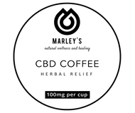 CBD INFUSED COFFEE PREMIUM FINE GRANULES 100 grams