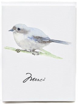 Bird Merci Note Cards - box of 8