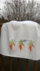 Carrot Flour Sack Towels