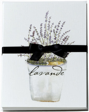 Lavender Bucket Note Card