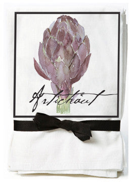Artichoke Flour Sack Tea Towels
