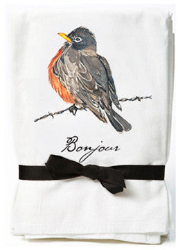 Robin Flour Sack Towels