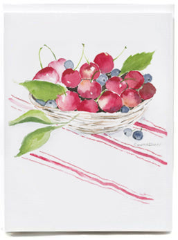Basket of Cherries - box of 8