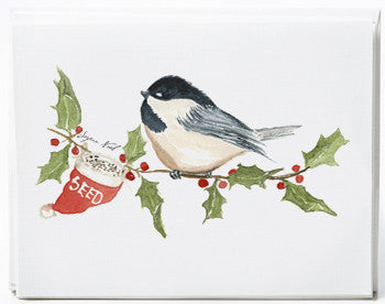 Chickadee Note Cards - box of 8 - NEW