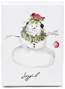 Snowman Note Cards - box of 8