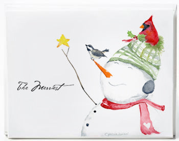 Snowman the Merriest - box of 8