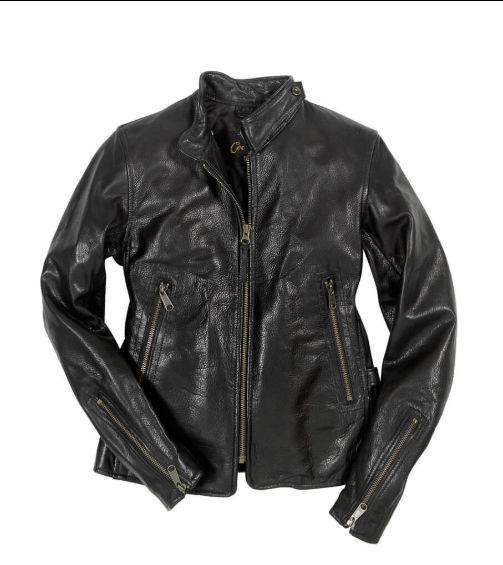 Motorcycle Cafe Racer Leather Jacket