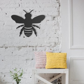 Bee Metal Wall Art