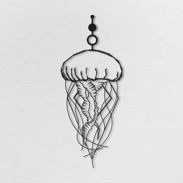 Jellyfish Metal Wall Art