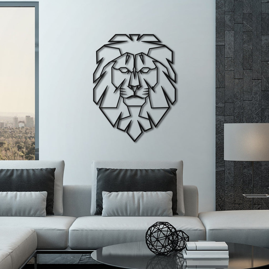 Leo Metal Wall Decoration