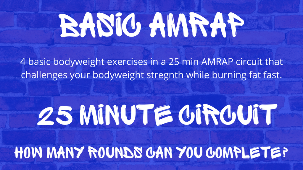 AMRAP Workout Circuit Spiked Nutrition