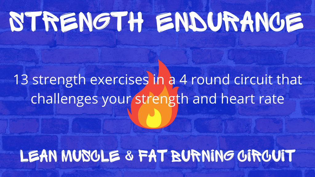 Strength Endurance Lean Muscle Fat Burning Circuit Spiked Nutrition