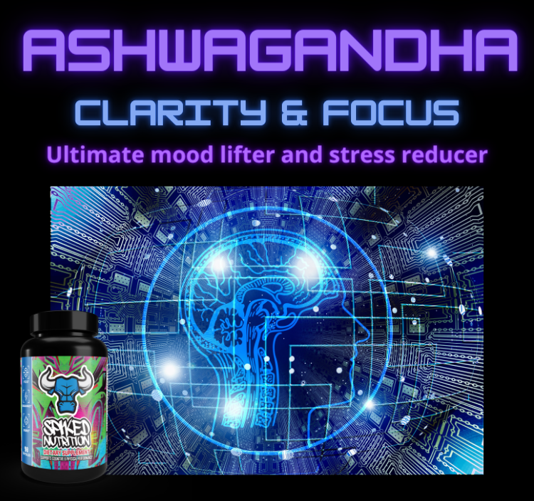 Ashwagandha promotes clarity and focus spiked nutrition