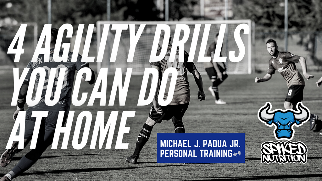 at home agility drills spiked nutrition