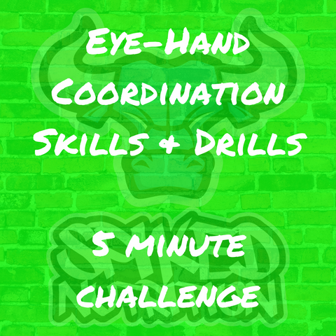 Eye-Hand Coordination Skills & Drills from Spiked Nutrition