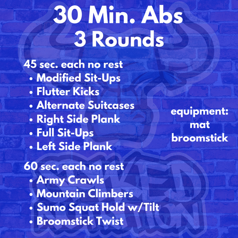 30 Minute Abs Routine - Spiked Nutrition Premium Supplements