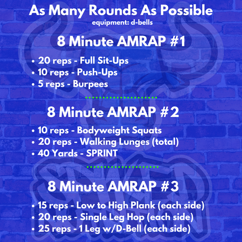 As Many Rounds As Possible (AMRAP) Workout - Spiked Nutiriton