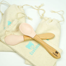 Load image into Gallery viewer, Spoon Duo - Beechwood & Silicone