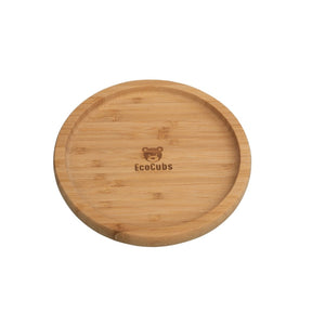 Bamboo Suction Plate (3 colours)