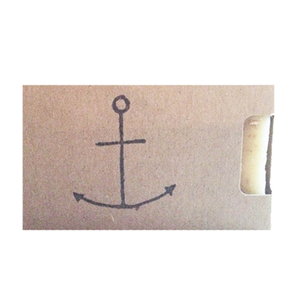 """Anchors"" Lemongrass / Peppermint Organic Soap"
