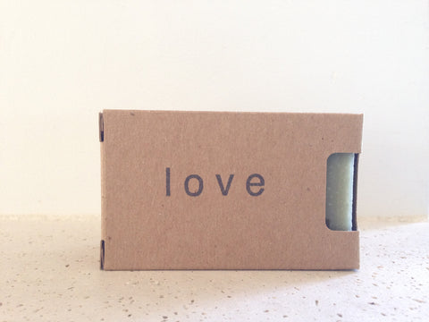 Organic Love Soap - French Clay & Geranium