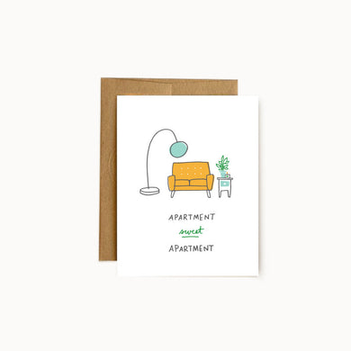 Alisa Wismer Apartment Sweet Apartment Greeting Card