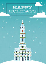 Load image into Gallery viewer, Happy Holidays City Hall Card