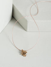 Load image into Gallery viewer, Rosalyn Floral Cord Necklace