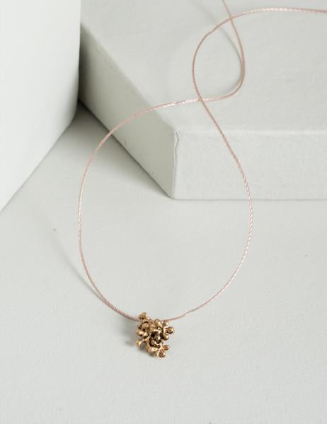 Rosalyn Floral Cord Necklace