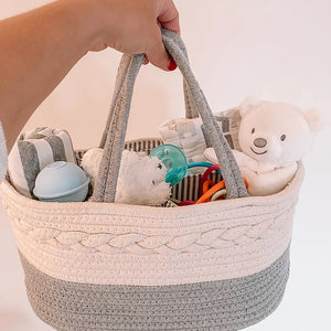 Diaper Caddy Organizer - Gray