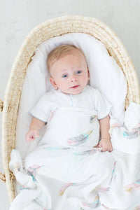 Feather Swaddle Blanket