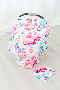 Flora Car Seat Canopy and Breastfeeding Cover