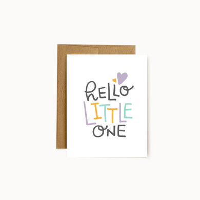 Alisa Wismer Hello Little One Greeting Card