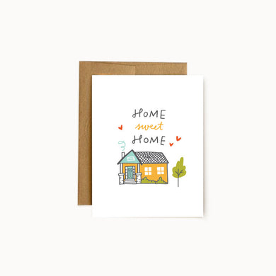 Alisa Wismer Home Sweet Home Greeting Card